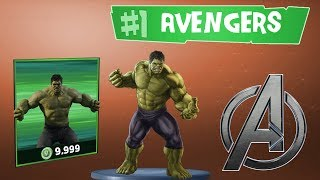 Fortnite Avengers Update: Funny Moment Highlights! (Fortnite + Hulk = OP)