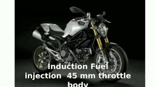 9. 2010 Ducati Monster 1100 -  Specification motorbike Engine Info Top Speed Features Specs
