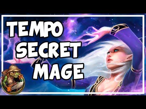 Download Hearthstone - Tempo Secret Mage (Season 42) HD Mp4 3GP Video and MP3
