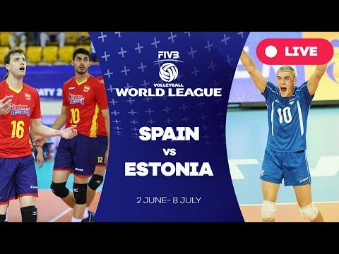 Spain v Estonia - Group 3: 2017 FIVB Volleyball World League