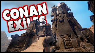 Welcome to Conan Exiles! Conan Exiles Gameplay features brutal open-world survival in a massive world! Today we start to build a new base, find spiders and a...