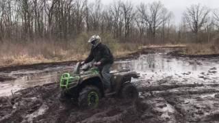 6. 2016 Arctic Cat 700 Mud Pro