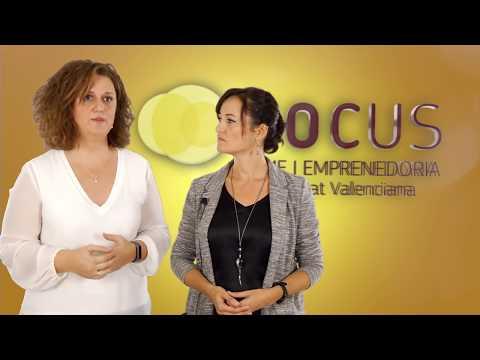 Maika Núñez y Marga Martínez de la Fundación Nova Feina en #FocusPyme L'Alacantí[;;;][;;;]
