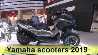 9. The new Yamaha scooters 2019