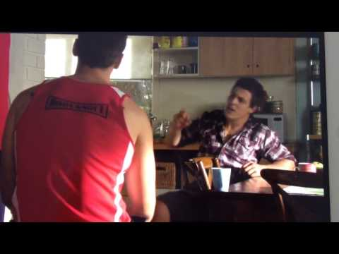 Home and Away: Brax and Andy argue: Clip 5922 (видео)