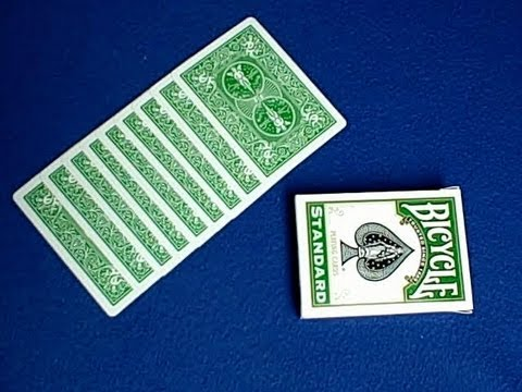 cardtrickteacher - Easy mathematical prediction card trick revealed in this tutorial. Credit for this card trick goes to Matt Parker at http://www.youtube.com/STEMMathsMagic an...