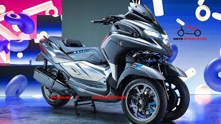 5. New 2019 Yamaha 3CT Scooter debut at EICMA 2018 | New 300cc Yamaha 3CT Scooter Officially Revealed