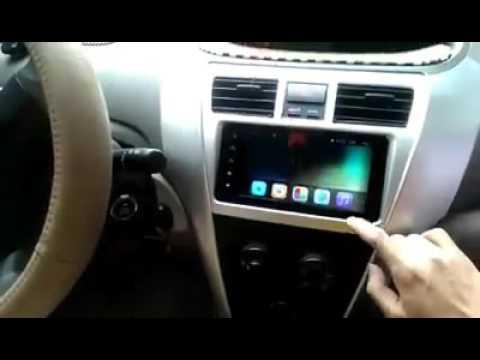 màn hình DVD FUJITSU android cho xe toyota vios
