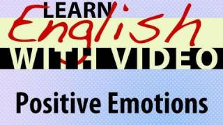Positive Emotions Lesson