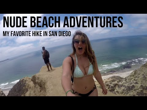 Nude Beach Adventures | Black's Beach, San Diego (видео)