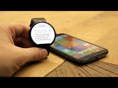 Moto 360 Smartwatch   First Look