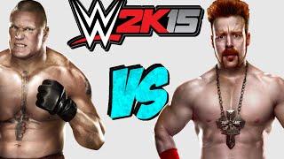 WWE 2K15: Sheamus VS Brock Lesnar [FR//HD] full download video download mp3 download music download