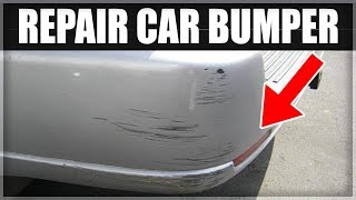 Video How to Repair a Scuffed or Damaged Car Bumper for less than $100 MP3, 3GP, MP4, WEBM, AVI, FLV Agustus 2019