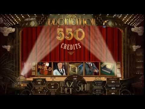 PROHIBITION +20 FREE SPINS!! +BONUS! +BIG WIN! online free slot SLOTSCOCKTAIL hhs