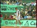 Pioline サフィン 全仏オープン 1998 (6/6)