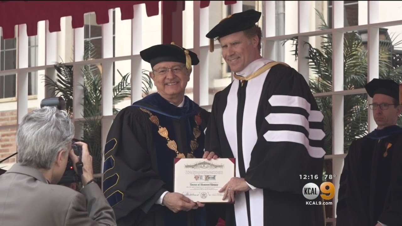 Dr. Will Ferrell Speaks To USC's Class Of 2017