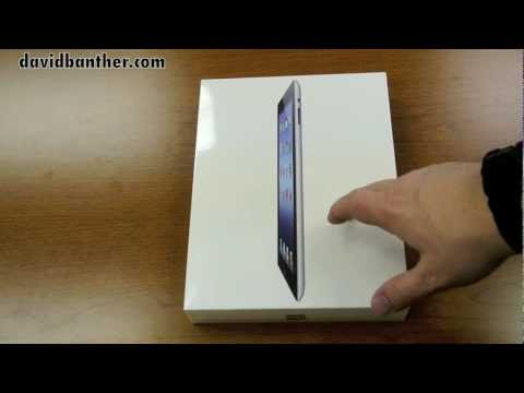Apple iPad 64GB WiFi [3rd Generation] Unboxing