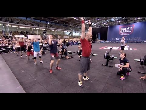 crossfit - The CrossFit Games -- (http://games.crossfit.com) When Salo stepped on the floor in the final men's heat, the energy in the building increased noticeably. Th...
