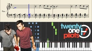 twenty one pilots: Lovely - Piano Tutorial + Sheets