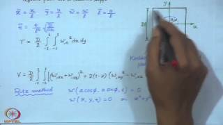 Mod-01 Lec-40 Special Problems In Plate Vibrations