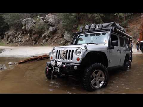 Exploring Idyllwild California - Nicest 4X4 water crossing in Southern California