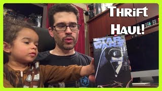 Star Wars & More Thrift Haul! We found comic books, VHS tapes, Star Wars figures and fun stuff when thrifting!Join Us on Facebook ► https://www.facebook.com/groups/galaxaar/Giveaways & Deals: http://deals.lockergnome.com/Subscribe to Chris Pirillo! ► http://bit.ly/SubChrisPirilloBehind the Scenes (our family videos) ► http://GeekFamilyFun.com/Join Us on Facebook ► https://www.facebook.com/groups/galaxaar/Giveaways & Deals: http://deals.lockergnome.com/Subscribe to Chris Pirillo! ► http://bit.ly/SubChrisPirilloFollow Us on Twitter ► http://twitter.com/GalaxaarGood Stuff on Instagram ► http://instagram.com/GalaxaariansFOLLOW CHRIS AND DIANAInstagram: https://instagram.com/ChrisPirillo https://www.instagram.com/dianapirilloTwitter: https://twitter.com/ChrisPirillo https://twitter.com/dianapirilloFacebook: https://www.facebook.com/chrispirillo https://www.facebook.com/dianaLpirilloYes, our daughter's name is Jedi ► http://go.tagjag.com/jedipirilloWhat is your vlog camera? ► http://go.tagjag.com/hdhatWhere's the logo on your computer? ► http://go.tagjag.com/applelogoMY COMPLETE STAR WARS FIGURE COLLECTION ► https://youtu.be/GIHPEtO6ci0Here's how we get FREE Gift Cards on iOS & Android:  http://go.tagjag.com/freepoints  http://go.tagjag.com/freeappsSelect Music Tracks in our videos Created for FREE on JukeDeck http://go.tagjag.com/jukedeckChris & Diana Pirillo 1420 NW Gilman Blvd #2543Issaquah, WA 98027Hello, galaxy! I'm Chris Pirillo, and I love living the geek lifestyle - as a family-loving father, as an entrepreneur, as a Star Wars collector, as a retro video game player, as a LEGO minifigure fan, as a pop culture event producer, as a thrifting junkie, as an '80s nostalgia kidult, as a toy seeker, as a coupon clipper, as a consumer tech advisor, as a person who loves picking up the digital camera that's usually sitting inside his smartphone and recording whatever thoughts happen to be in my head at the time (or experiences that I'm happy to share with the world)!