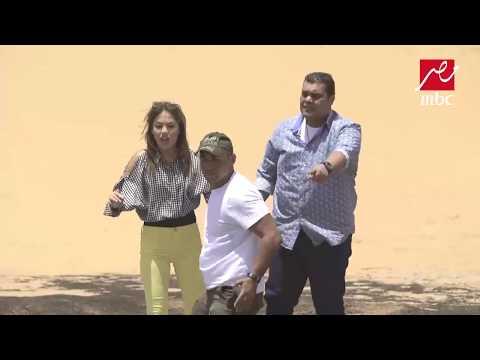 """أحمد فتحي ينطق الشهادة بعد وقوعه فى الرمال المتحركة فى """"رامز تحت الأرض"""""""