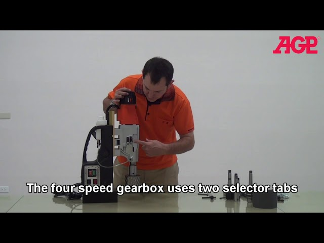 AGP MD120 4 Speed Magnetic Drilling Machine – Introduction & Operation