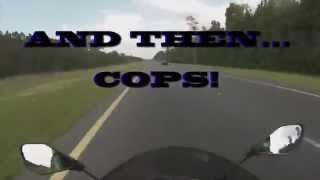 2. 2014 zx6r top speed & cops!!!