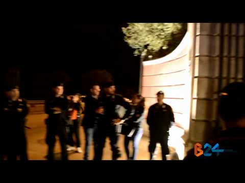 Il cavaliere Silvio Berlusconi a Villa Ciardi