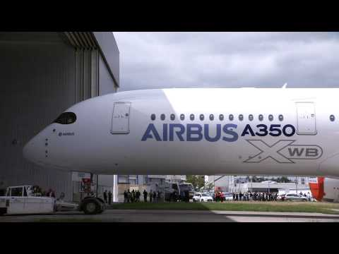 AIRBUS - Video from Airbus. B-Roll footage of the Airbus A350.