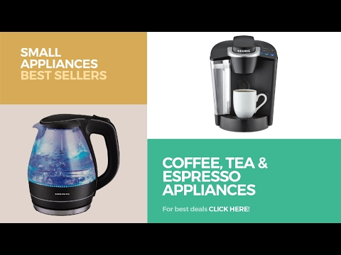 Coffee, Tea & Espresso Appliances // Small Appliances Best Sellers