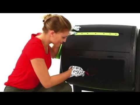 Видео Компостер пластиковый KETER Mega Composter