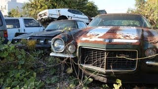 Left To Rot - Abandoned American Muscle-cars In Japan