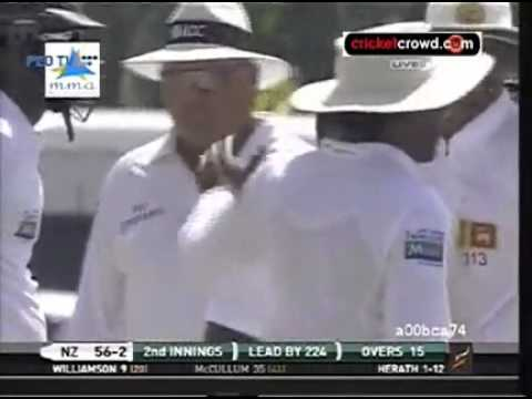Srilanka vs Newzealand 2nd Test Day 4 2012 Full Highlights November 28