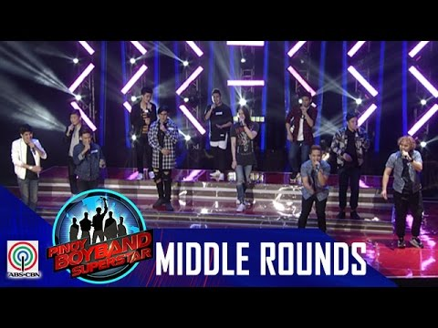 "Pinoy Boyband Superstar Middle Rounds: Team A - ""Quit Playing Games With My Hearts"""