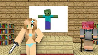 Nonton Monster School   Zombie Killer   Minecraft Animation Film Subtitle Indonesia Streaming Movie Download