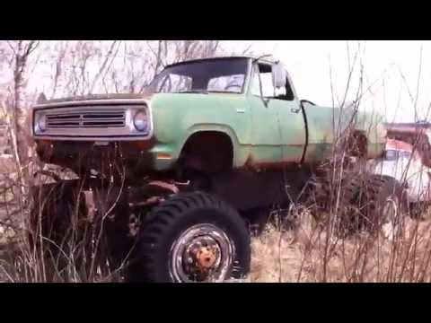 4x4 Old Dodge Military Truck