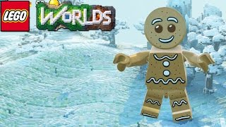 Lego Worlds - I Am A Gingerbread Man [10]