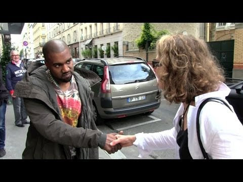 KANYE WEST wants to TALK more about the French and American Paparazzi