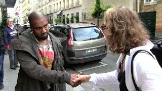 EXCLUSIVE - KANYE WEST wants to TALK more about the French and American Paparazzi - YouTube