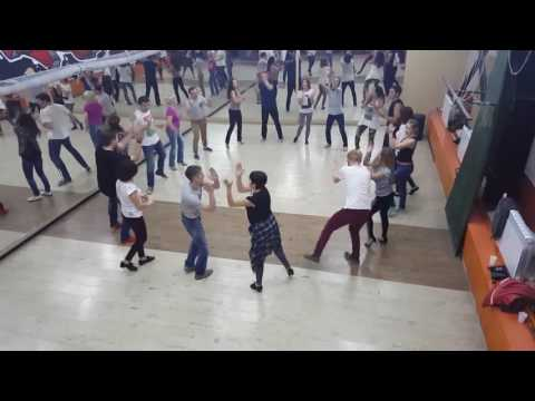 Руэда де Касино, видео с занятий старшей группы Dance House (17.10.2016)