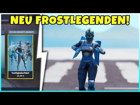 So bekommst Du das FROSTLEGENDEN PAKET! 3 EISIGE Legendäre Skins - Fortnite Battle Royale