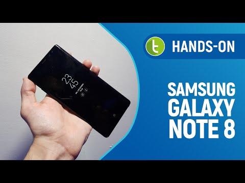 Galaxy Note 8: hands on e primeiras impressões  TudoCelular.com