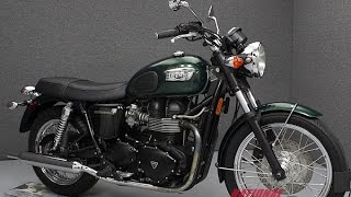 6. 2007 TRIUMPH BONNEVILLE  - National Powersports Distributors