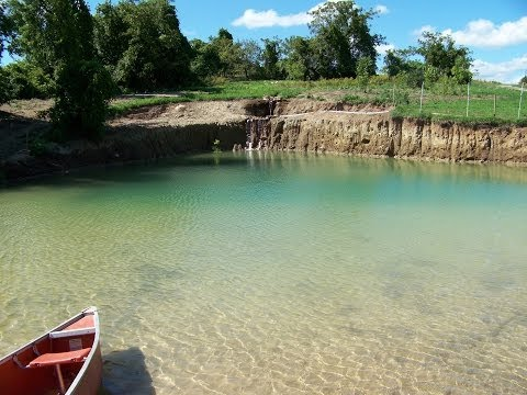 1.Building Your Own Private Beach - Swimming Pond  June12