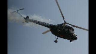 Smoky Display PZL / Mi-2 Hoplite @ Air Show Kecskemet 2008