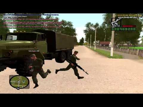 Обычный день солдата CRMP