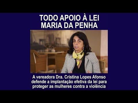 Dra Cristina: implantação efetiva da Lei Maria da Penha