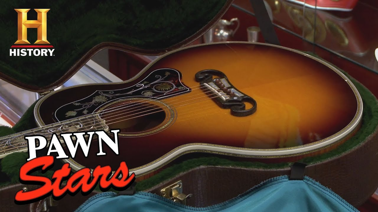 Pawn Stars: Gibson Master Museum Acoustic Guitar (Season 9) | History
